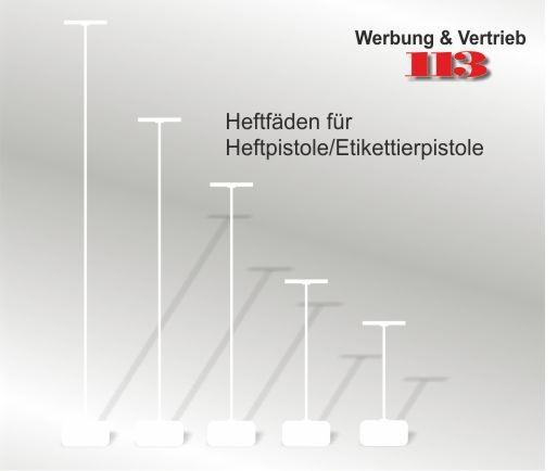 Heftfaden 65 mm - günstige VE