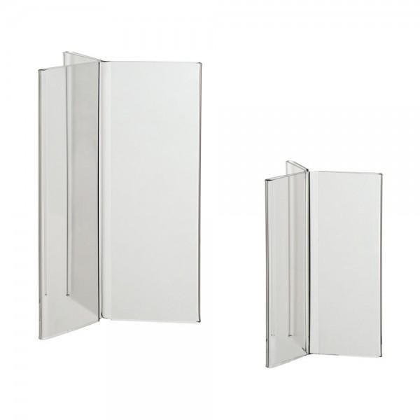 Acryl-Y-Ständer DIN A6, DIN A5, DIN A4