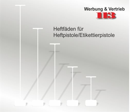 Heftfaden 15 mm - günstige VE