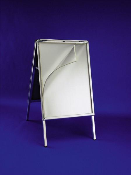Alu-Plakataußenständer 500 x 700 mm regenwasserdicht