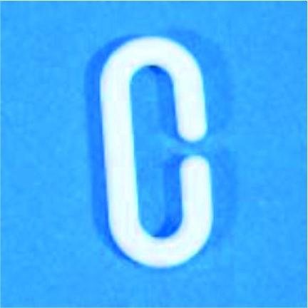 C-Kunststoffhaken