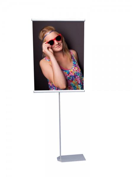 Poster- und Bannerdisplay KN-P DIN A1 600 mm