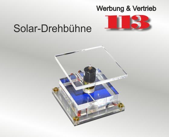 Solar-Drehbühne 70 x 70 mm