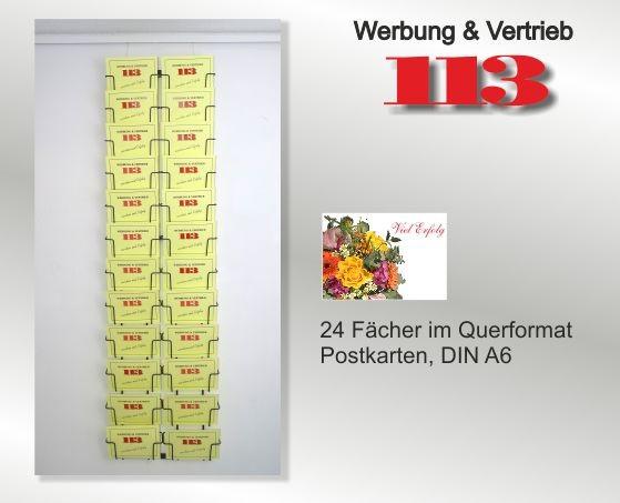 Postkartenhalter Universum 24 24 DIN A6 Querformat