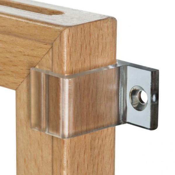 Wandclip für Holzrahmen