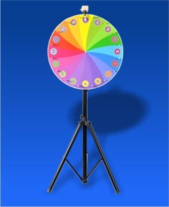 Glücksrad Regenbogen ø 700 mm
