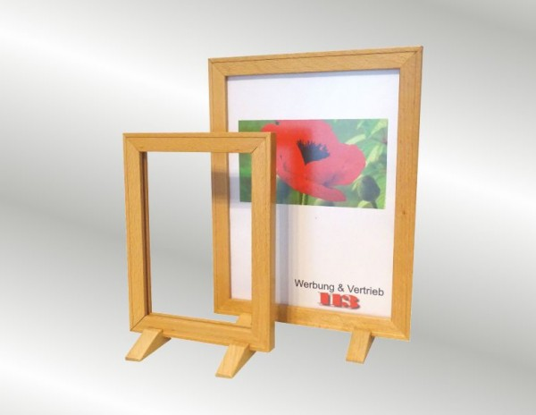 Holzplakatrahmen Buche DIN A4, DIN A5
